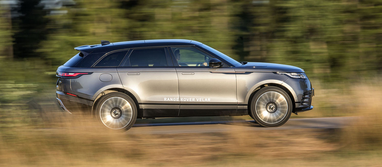 Range Rover Velar, mer lyx och mer terräng än Volvo V90 CC