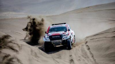 Permalänk till:Toyota Gazoo kör Dakar med tre team
