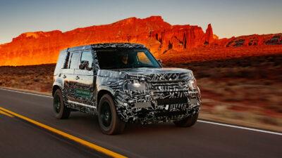 Permalänk till:Land Rover Defender reborn