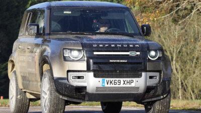 Permalänk till:En dag på Land Rovers testbana