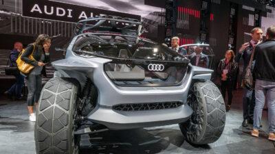 Permalänk till:Framtidens terrängbil á la Audi